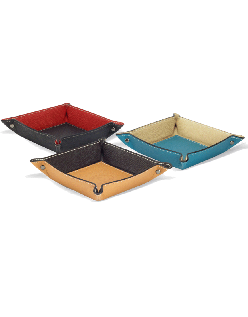 Luni Leather Tidy Tray