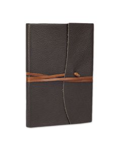Capri Leather Journal Brown