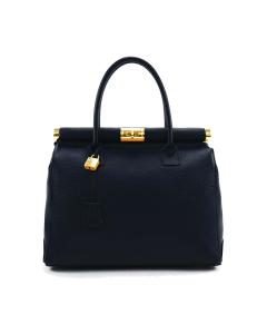 Cortina Leather Bag for Woman Black