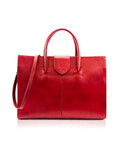 Garda Leather Bag for Woman Red