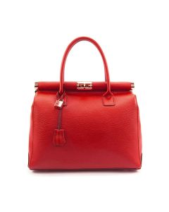 Cortina Leather Bag for Woman Red