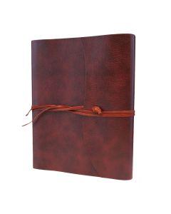 Tivoli Recycled Leather Photo Album Red