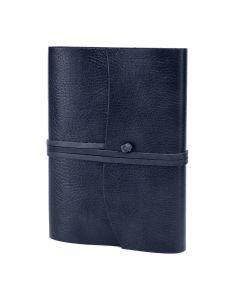 Tivoli Recycled Leather Journal Navy