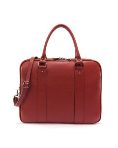 Torino Business Leather Bag Red