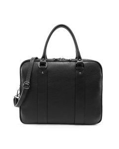 Torino Business Leather Bag Black