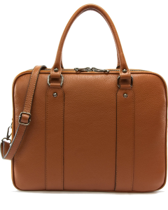 Torino Business Leather Bag Cognac