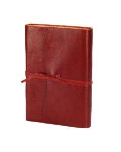 Venezia Romantica Leather Journal Red