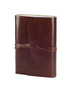 Venezia Romantica Leather Journal Dark Brown